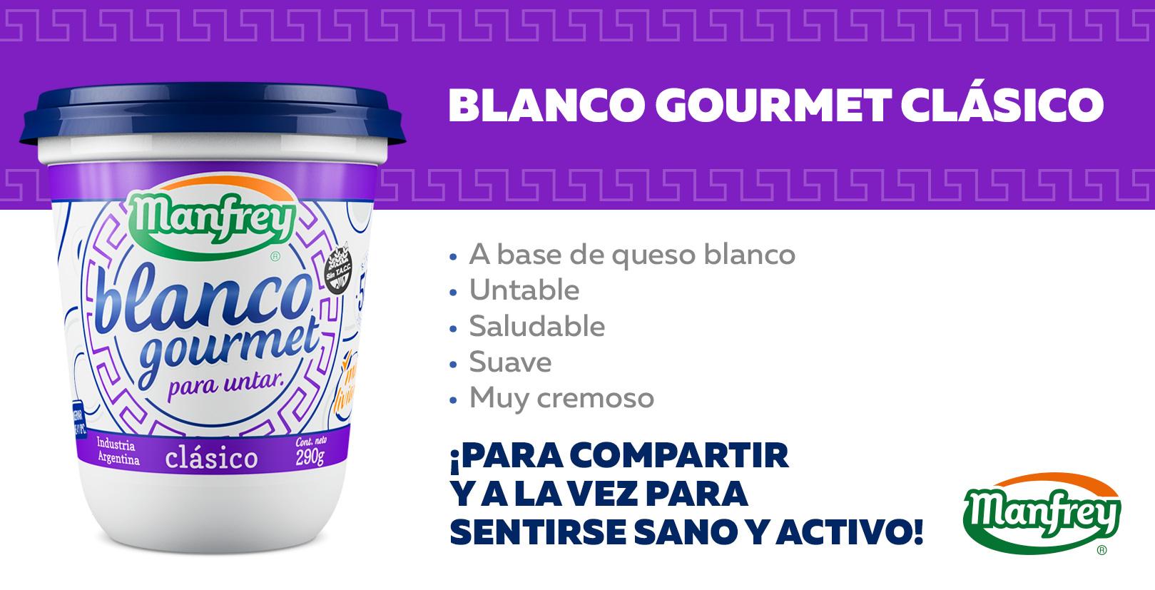Blanco Gourmet Clásico