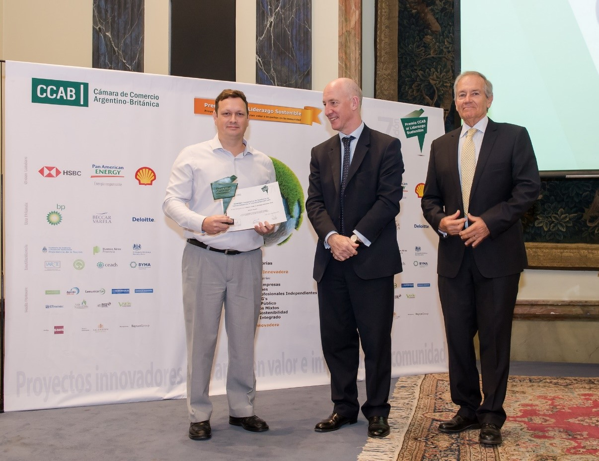 Ganamos el Premio CCAB al Liderazgo Sostenible, categoría Grandes Empresas 2019