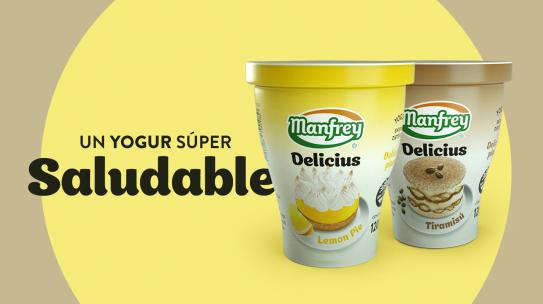 Nuevo yogures Delicius
